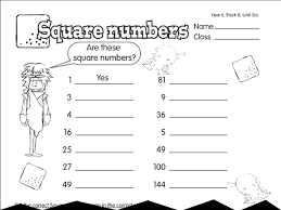 square o saurus a year 6 times tables worksheet