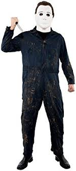 michael myers jumpsuit amazon com paper magic s michael myers deluxe