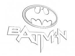 batman logo coloring pages funycoloring