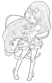 anime coloring pages free coloring pages for kids