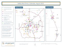 Greeley Colorado Map by Colorado U0027s Health Care Safety Net Colorado Health Institute