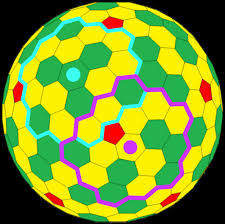 Pentagon Map The Goldberg Polyhedron Please Let This Be The Shape Of The Maps