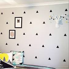 Removable Nursery Wall Decals Triangle Wall Stickers Removable Wall Decals Nursery Decor Wall