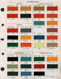 100 dupont paint color chart chevrolet paint colors chart