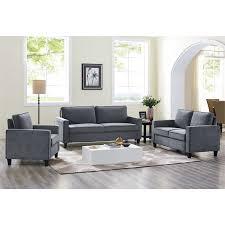 home decor solutions silverton lifestyle solutions silverton chair in gray gray and lifestyle