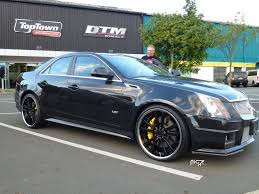 matte black cadillac cts v cadillac cts v concourse m885 gallery mht wheels inc