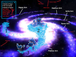 Galaxy Map Image Galactic Map Edited Png Sporewiki Fandom Powered By Wikia