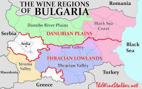 Map Of Bulgaria Bulgaria Part 2 The Current State Of Bulgarian Wine The Wine