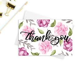 thank you cards wedding thank you cards etsy nz