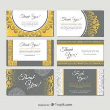 damask style business card templates free vector 123freevectors