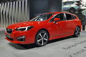 2017 subaru impreza hatchback red new subaru impreza makes frankfurt 2017 debut by car magazine