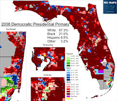 2008 Presidential Election Map by Florida Primary Preview U2013 Mci Maps