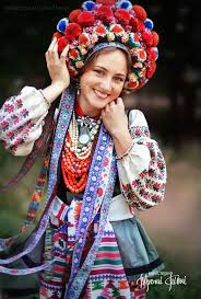 floral headdress ukrainian women bring back traditional floral crowns to show