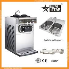 china sumstar ice cream machine price liquid nitrogen ice cream
