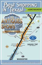 best antique shopping in texas round top antiques show map helps newbies and veterans navigate the