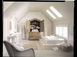 diy attic bathroom decorating ideas youtube