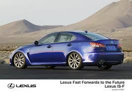 lexus isf exhaust uk lexus fast forwards to the future lexus uk media site