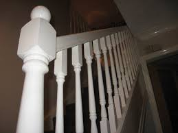 Sanding Banister Spindles Painting A Dark Varnished Staircase Page 1 Homes Gardens And