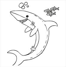 sharks coloring pages 9 shark coloring pages jpg ai illustrator download