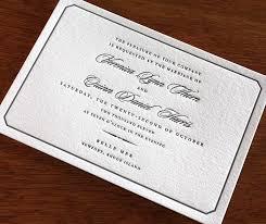 classic wedding invitations new winter letterpress wedding invitations 3 new letterpress