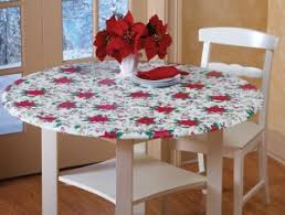 Stay Put Table Covers Outdoor Tablecloths Fitted Outdoor Tablecloths Elastic Fits 4 Ft