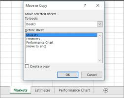 move or copy worksheets or worksheet data excel