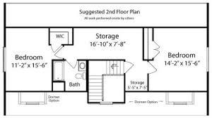 upstairs floor plans kea by all american homes cape cod floorplan
