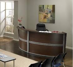 Reception Station Desk Wow Ofm Marque Reception Desks Enhance Your Lobby And Waiting Room