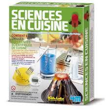 kit cuisine enfants kit scientifique en cuisine electricité fusée cristal jeu pédagogique