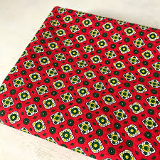 french upholstery fabric thick cotton provencal vintage