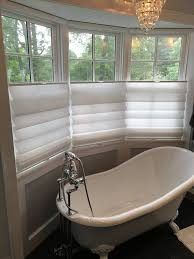 Roman Shades For Bathroom Roman Shades That Open From Top And Bottom Scalisi Architects