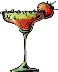 alcoholic drinks clipart clipart strawberry daiquiri cocktail