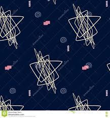 hand drawn geometric hipster stylish pattern vector art pastel