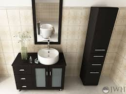 Where Can I Buy Bathroom Vanities 39 Lune Single Bathroom Vanity Espresso Bathgems