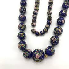 art glass necklace images Venetian murano jewelry vintage venetian wedding cake art glass jpeg