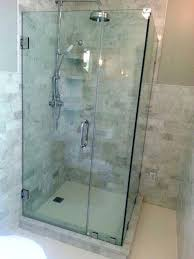 Cost Of Frameless Glass Shower Doors Frameless Glass Shower Enclosures Cost Andyozier With Regard
