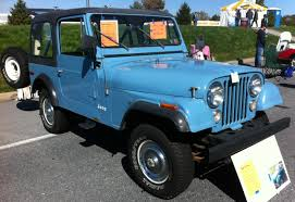 royal blue jeep 1980 jeep cj 7 information and photos momentcar