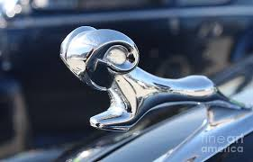 1938 dodge ram ornament photograph by telfer