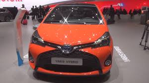 toyota yaris hybrid 1 5 e cvt 2016 exterior and interior in 3d