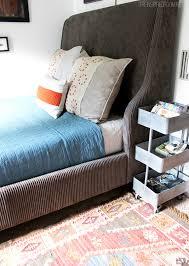 Teen Boy Bedroom Teen Boy Bedroom Makeover Progress The New Bed The Inspired Room