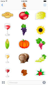 happy thanksgiving stickers on the app store