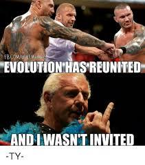 Wwe Memes - image result for evolution wwe meme humor pinterest evolution