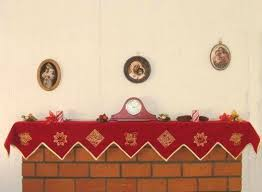 mantel scarves mantels mantle and sewing ideas
