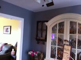 valspar paint color drizzling mist bluish gray color on wall