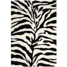 Black And White Zebra Area Rug Black And White Zebra Rug Rug Designs