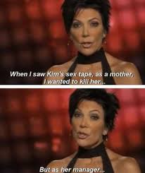 Sex Tape Meme - kris jenner on kim kardashian s sex tape kris jenner kim