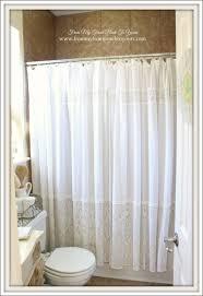 Gray Ruffle Shower Curtain Bathrooms Amazing Gray Shower Curtain White Farmhouse Shower