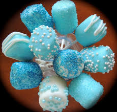 marshmallow pops for baby shower at http www etsy com