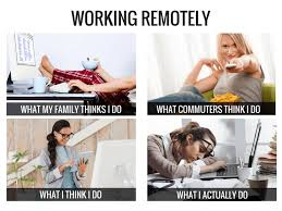 Working From Home Meme - the reality of working from home kelsinwonderland