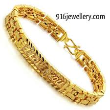 home design outstanding gold bracelets for men designs home
